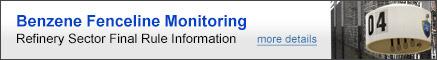Benzene Fenceline Monitoring